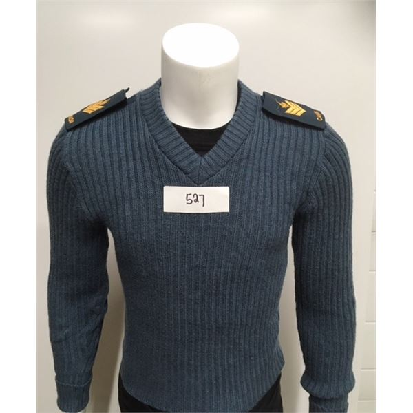 527- Royal Canadian Airforce Sweater, Sargent Size 38 Chest