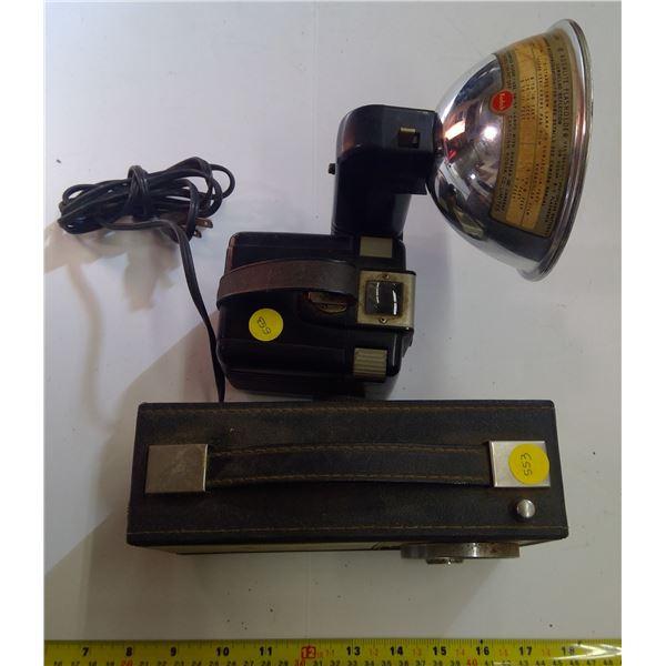 Vintage Camera & Radio