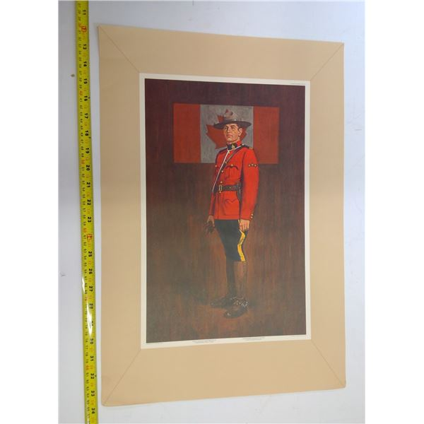 Tribute to RCMP - Set of 3 Prints