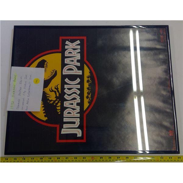 Jurassic Park Framed Poster