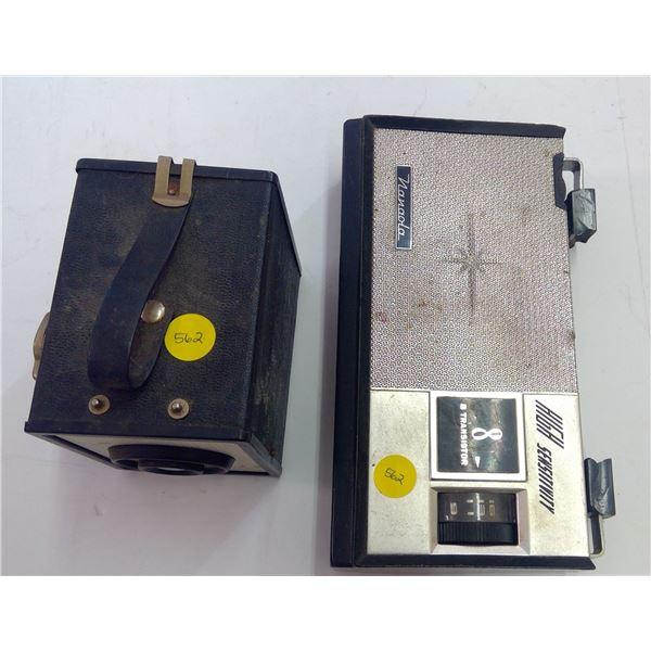 Antique Camera & Radio