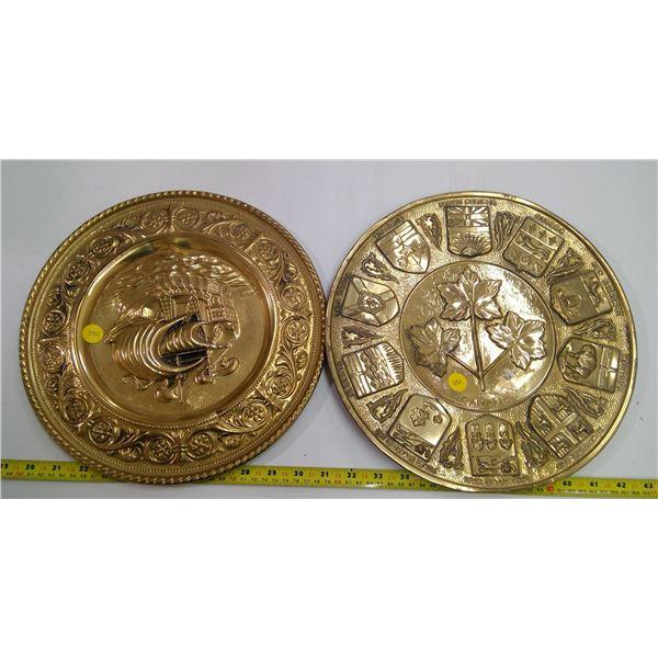 2 Decorative Platters