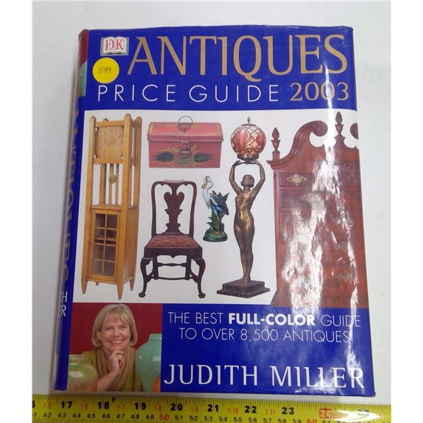 Hardcover Antiques Book