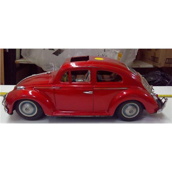 Tin VW Bump & Go Battery Operated Car