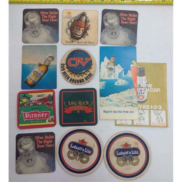 Assorted Bar Table Coasters