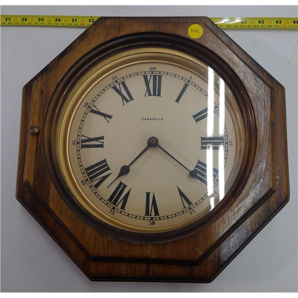 Wooden Caravelle Wall Clock