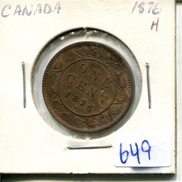 1876 one cent