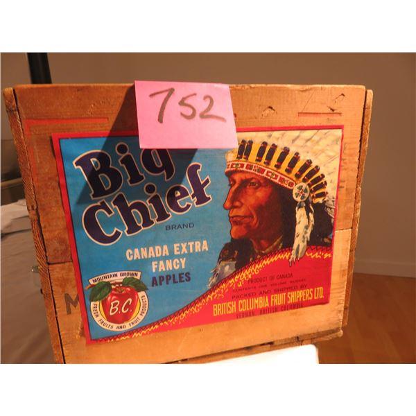 Big Chief apple box - Vernon, BC