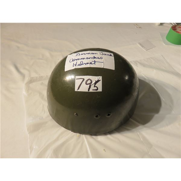 German tank commander helmet