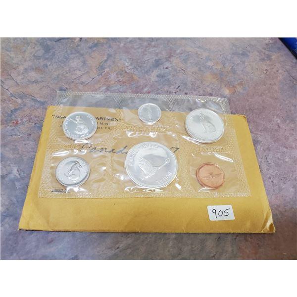 1967 canada mint coin set