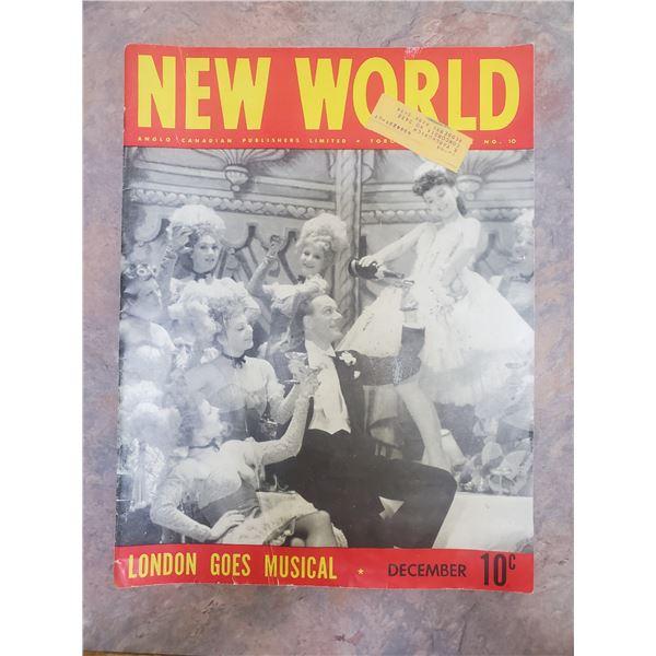 1943 new world magazine WWII