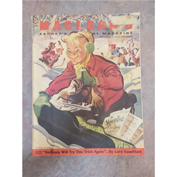 1944 Macleans WWII issue (pages 4, 5, 21)