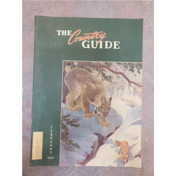 1955 country guide  (pages 6, 16, 25, 61)