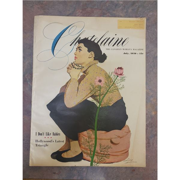 1950 chatelaine magazine