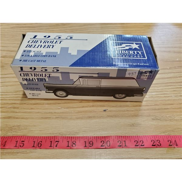 """1955 Chevy delivery """"Wix Filters"""" coin bank"""