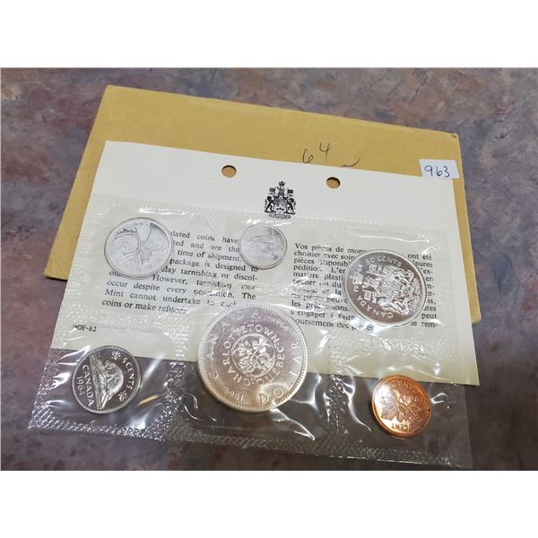 1964 uncirculated coin set