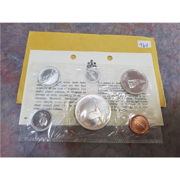 1967 uncirculated coin set