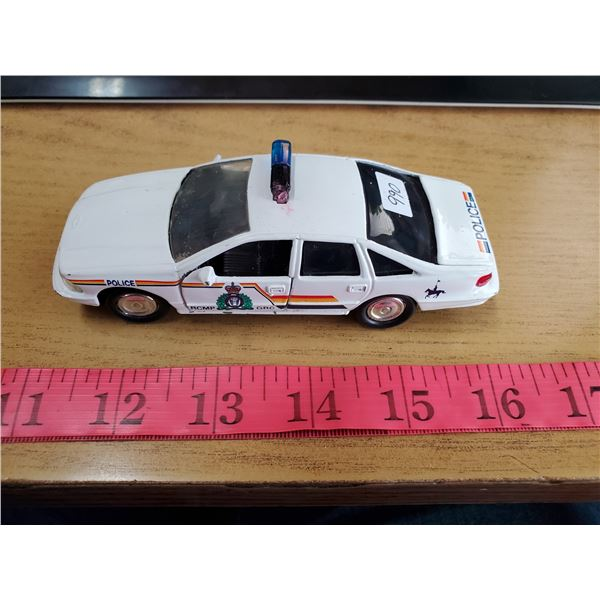 RCMP cruiser model toy