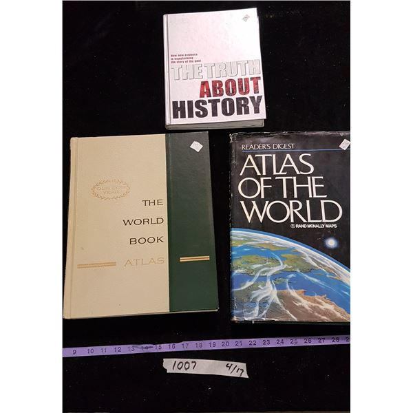 Lot Atlas & Books