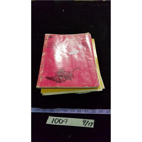 John Deere Shop & Operators Manuals