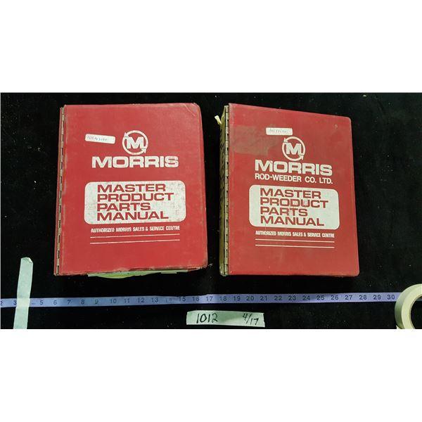 Morris Parts Manuals