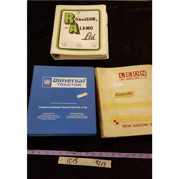 Agricultural Manuals / Advertising Materials