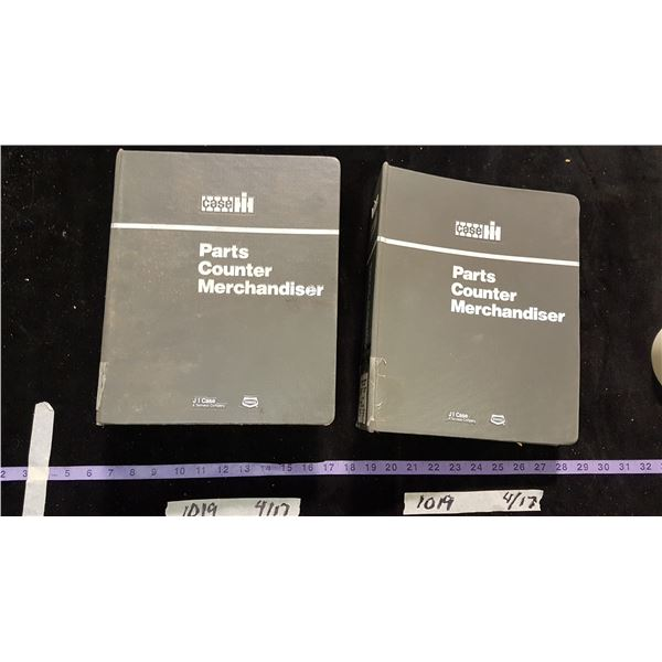 Case Parts Counter Books