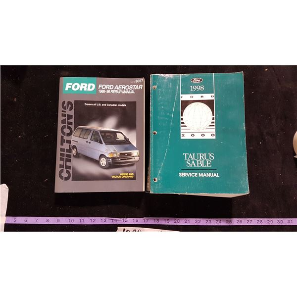 2 Ford Service Manuals