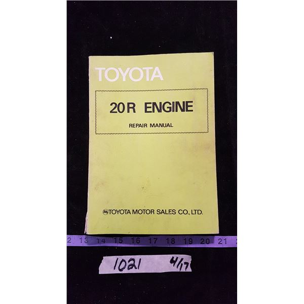 Toyota Hi-Lux & Engine Manuals