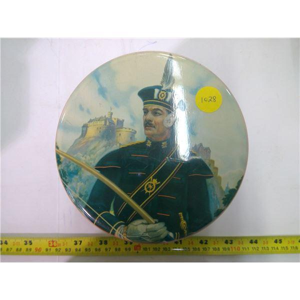 Vintage Tin - The Queen's Scottish Archers