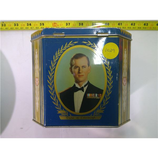 Vintage Tin - Duke of Edinburgh