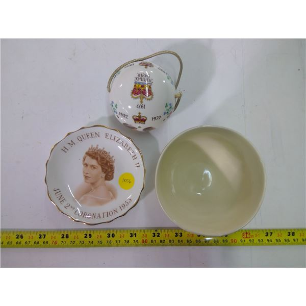 Bowl, Saucer & Ornament - China - see details