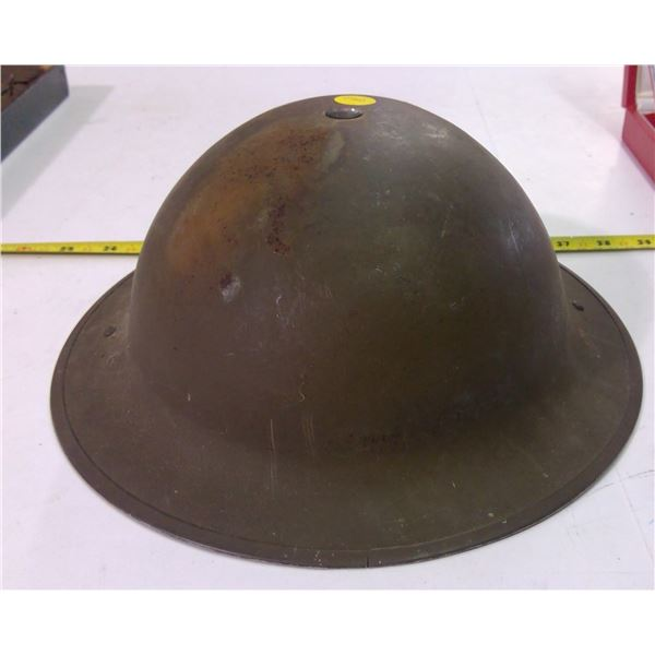 Antique Military Helmet - Metal
