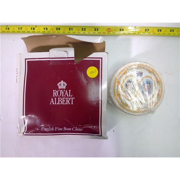 Royal Albert - The Golden Jubilee - Trinket Dish - Unopened