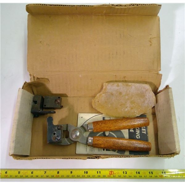 The Plains Rifle Shooting Kit Box with Bullet Making Contents