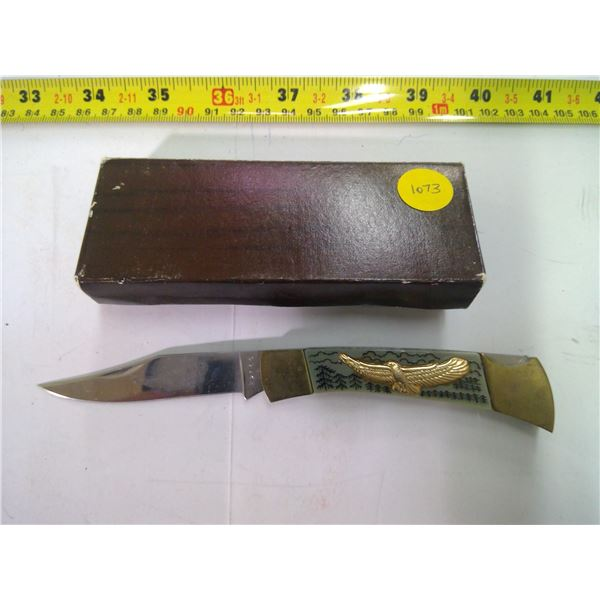 Stainless Pocket Knife - Excellent Condition