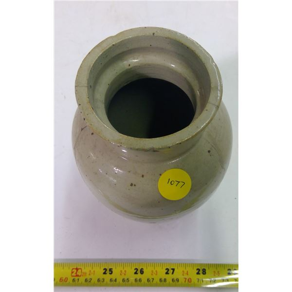 Pottery Vase - Cracked