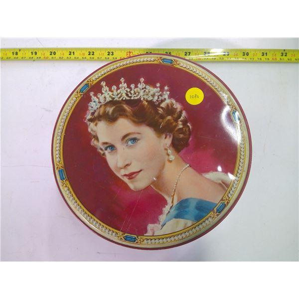 Vintage Tin - Queen Elizabeth II
