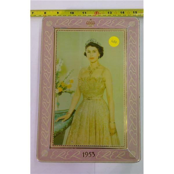 Vintage Tin - 1953 Queen Elizabeth II