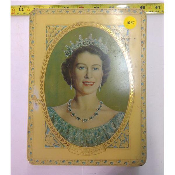 Vintage Tin - 1953 Coronation