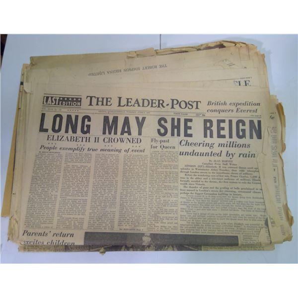 Old Paper Lot - Queen Elizabeth Theme