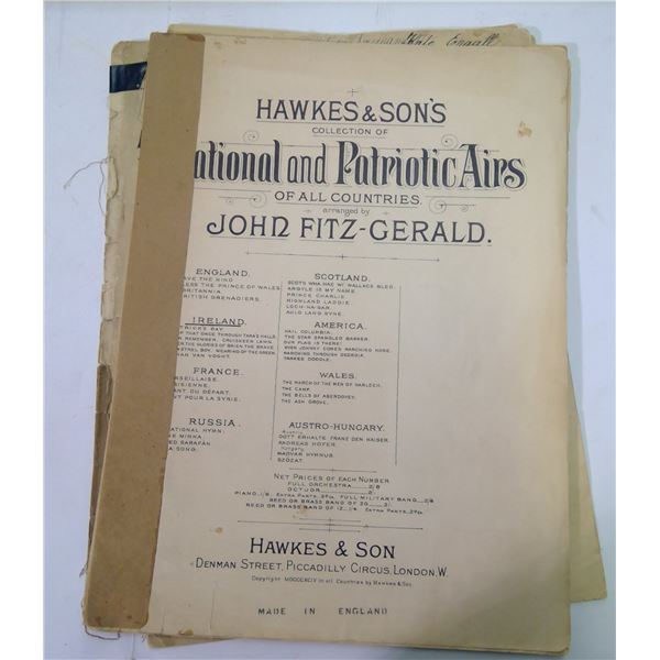Old Paper Lot - Sheet Music