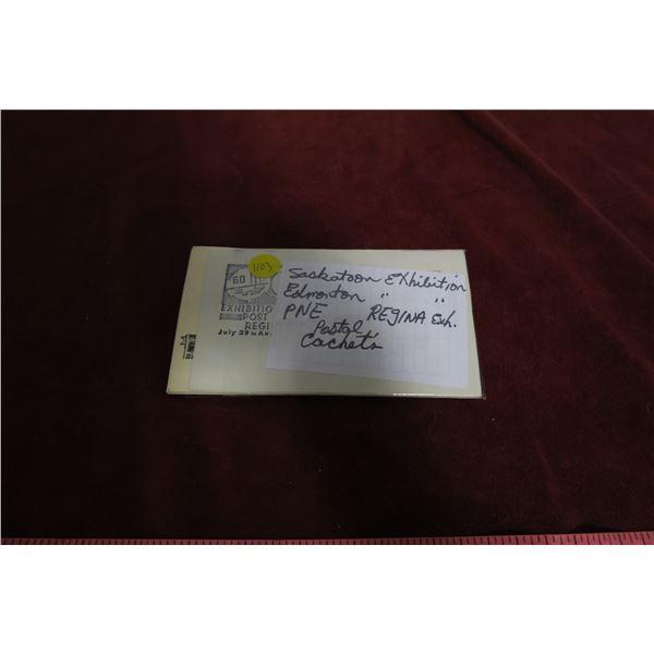 Saskatoon/Edmonton Exhibition Stamped Envelopes