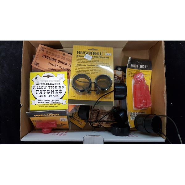 Lot Muzzle Loading Supplies & Misc.
