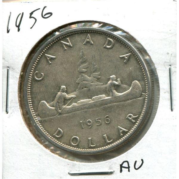 1956 Canadian Silver Dollar