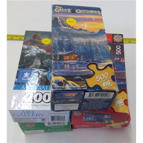 Lot of 5 Puzzles
