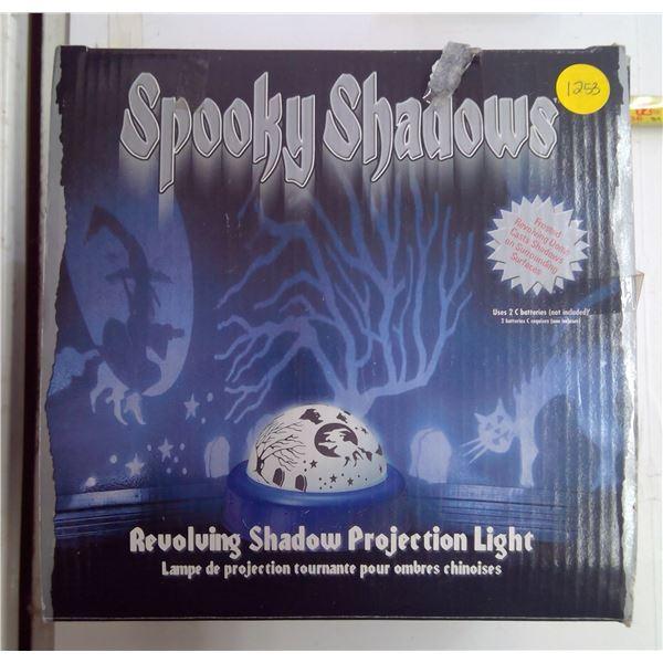 Spooky Shadows Revolving Projection Light