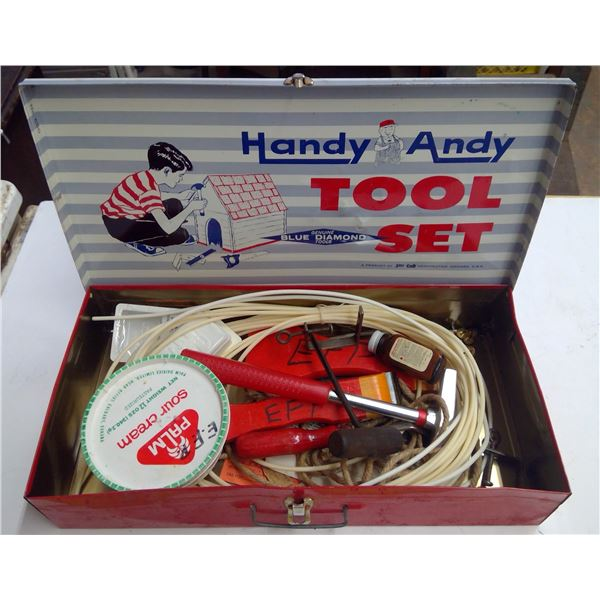 Handy Andy Tool Set & Contents
