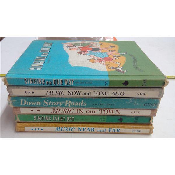 6 - Vintage Children's Books