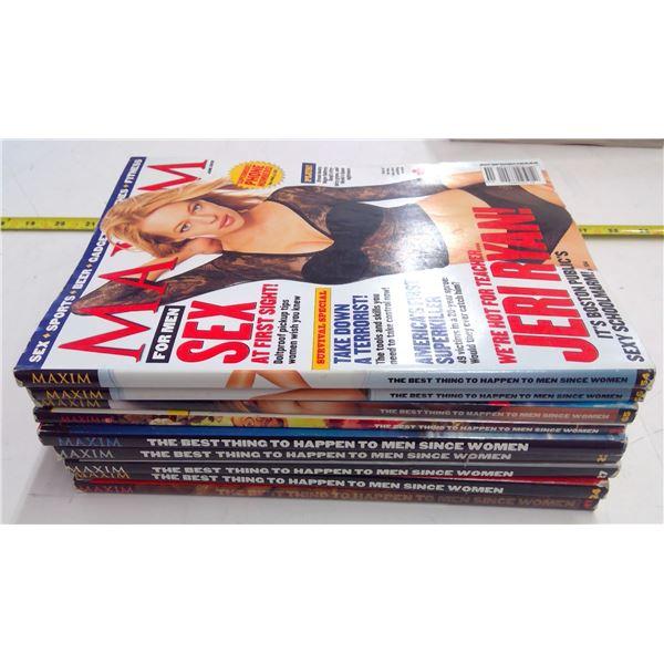 9 - Maxim Magazines